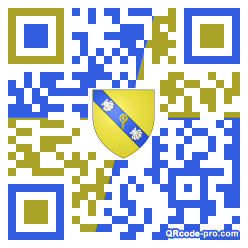 QR code with logo 2RQl0