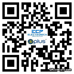 QR code with logo 2RVD0