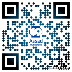 QR code with logo 2RVP0