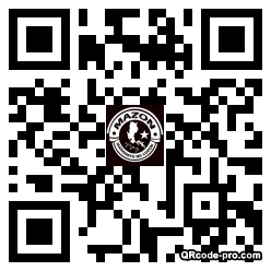 QR code with logo 2RsD0