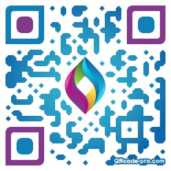 QR code with logo 2RyR0