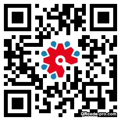 QR code with logo 2SWk0