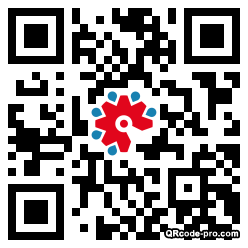 QR code with logo 2SX40