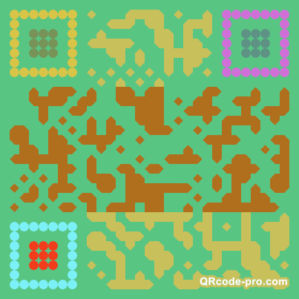 QR code with logo 2T3Z0