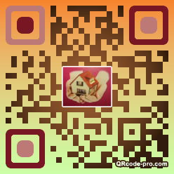 QR code with logo 2T820