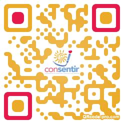 QR code with logo 2TBU0