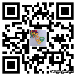 QR code with logo 2Ts70