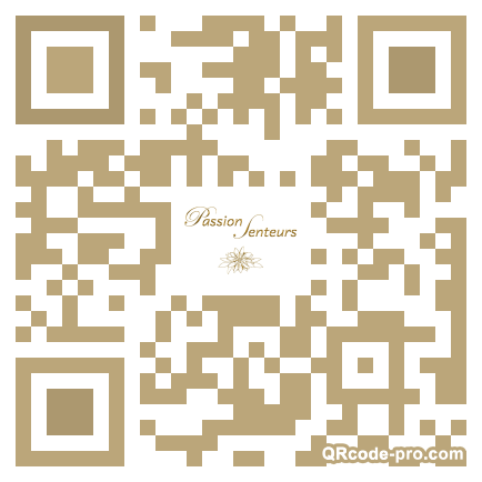 QR code with logo 2Tzy0