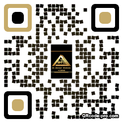 QR code with logo 2UX00