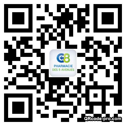 QR code with logo 2V6m0