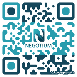 QR code with logo 2W2P0