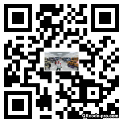 QR code with logo 2Wis0
