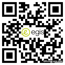 QR code with logo 2XBd0