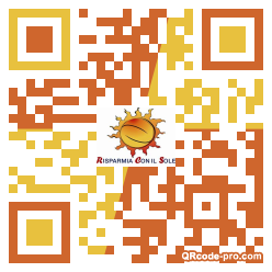 QR code with logo 2XzS0