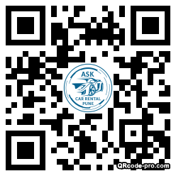QR code with logo 2YLu0