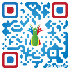 QR code with logo 2YkL0