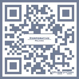 QR code with logo 2ZA70