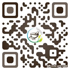 QR code with logo 2ZQ40