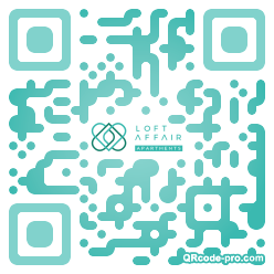 QR code with logo 2Zn30