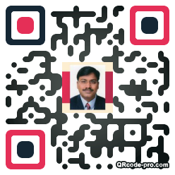 QR code with logo 2a490