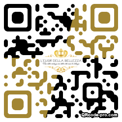 QR code with logo 2aGX0