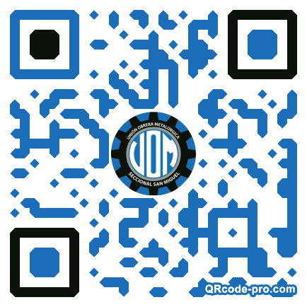 QR code with logo 2aNE0