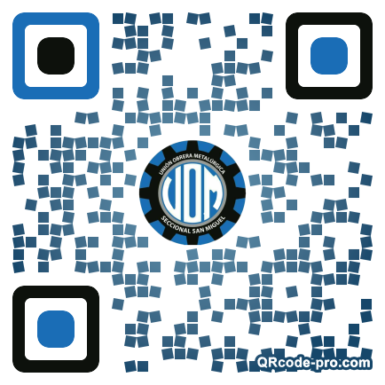 QR code with logo 2aNJ0