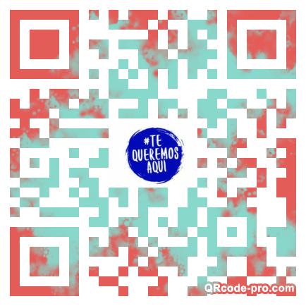 QR code with logo 2aat0