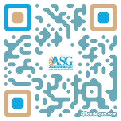 QR code with logo 2ab00
