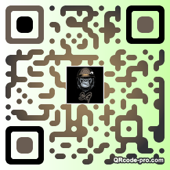 QR code with logo 2acX0