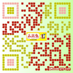 QR code with logo 2apS0