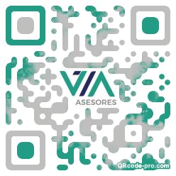 QR code with logo 2aue0