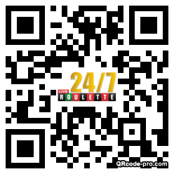QR code with logo 2awH0