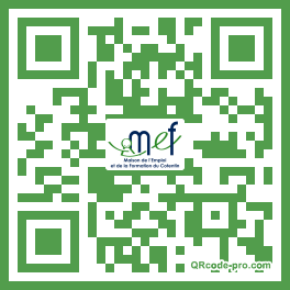 QR code with logo 2b4l0