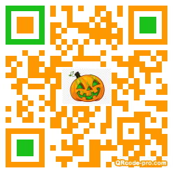 QR code with logo 2bJ90