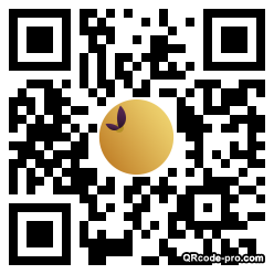 QR code with logo 2bV40