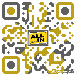 QR code with logo 2bbl0