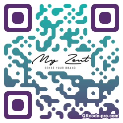 QR code with logo 2cCc0