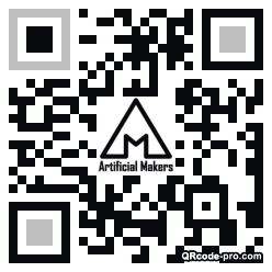 QR code with logo 2cRk0