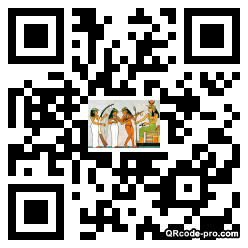 QR code with logo 2cRn0