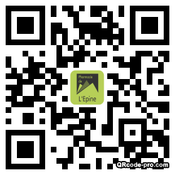 QR code with logo 2cTG0