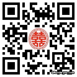 QR code with logo 2cV80