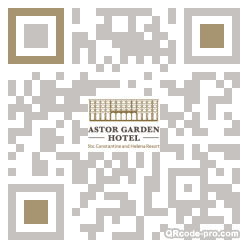 QR code with logo 2cmg0
