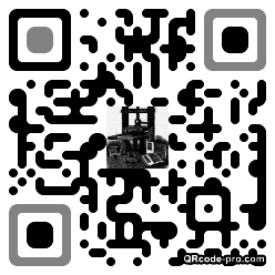 QR code with logo 2d060