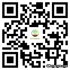 QR code with logo 2d2M0