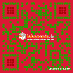 QR code with logo 2d420