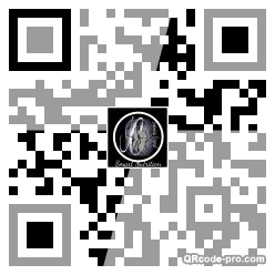 QR code with logo 2dBW0