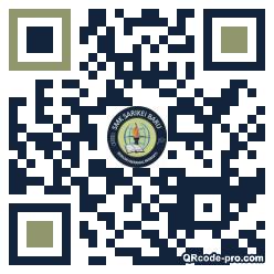 QR code with logo 2deP0
