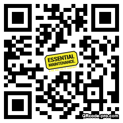 QR code with logo 2dhl0