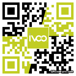 QR code with logo 2dq50